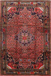 Tribal Geometric Malayer Persian Area Rug 5x8
