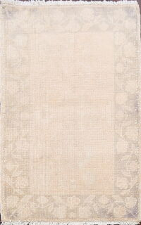 Floral Muted Anatolian Turkish Area Rug 2x3
