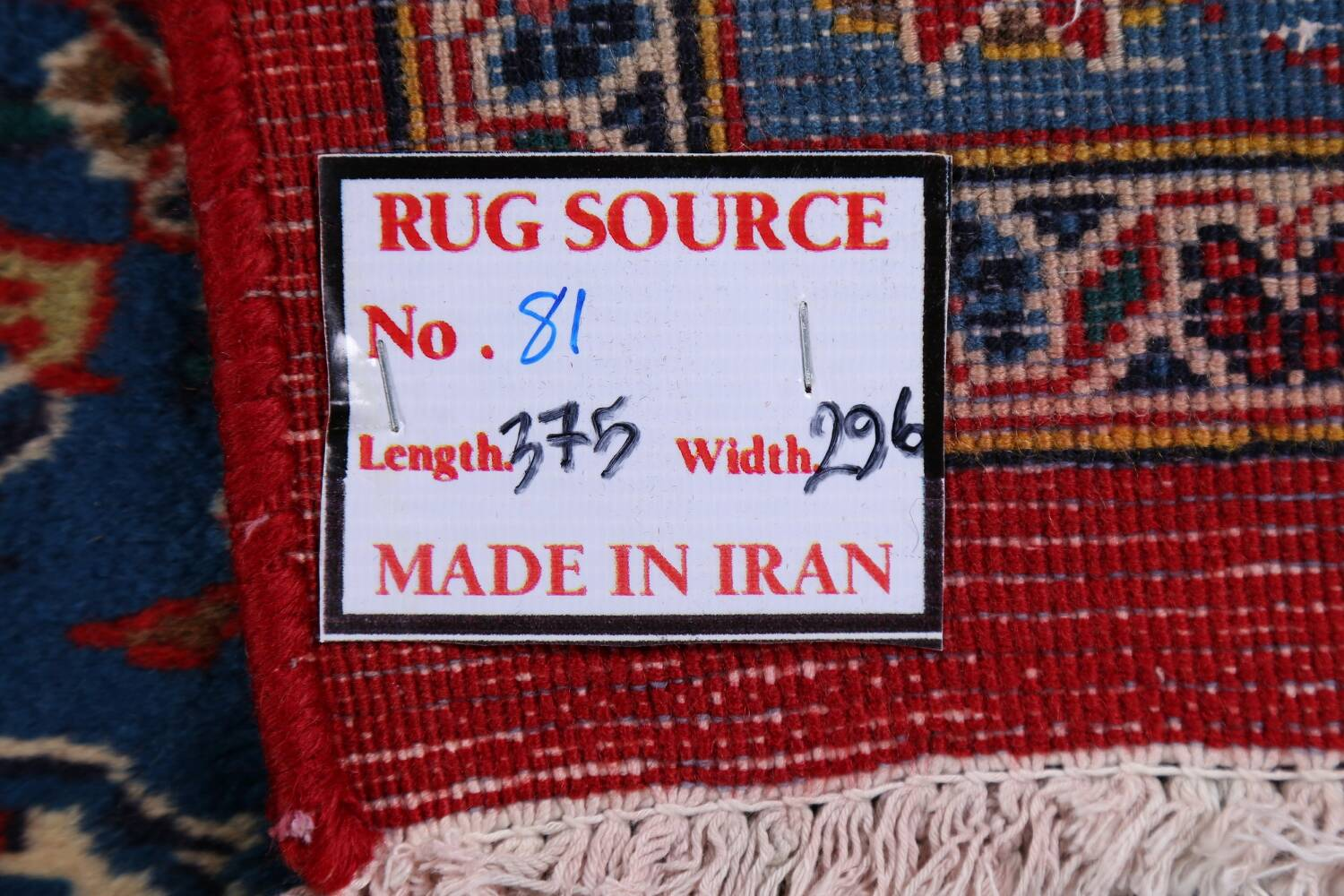 Vintage Floral Red Mashad Persian Area Rug 10x12 image 23