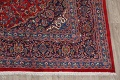 Vintage Floral Red Mashad Persian Area Rug 10x12 image 5