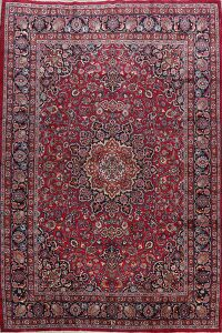 Vintage Floral Red Mood Persian Area Rug 8x11
