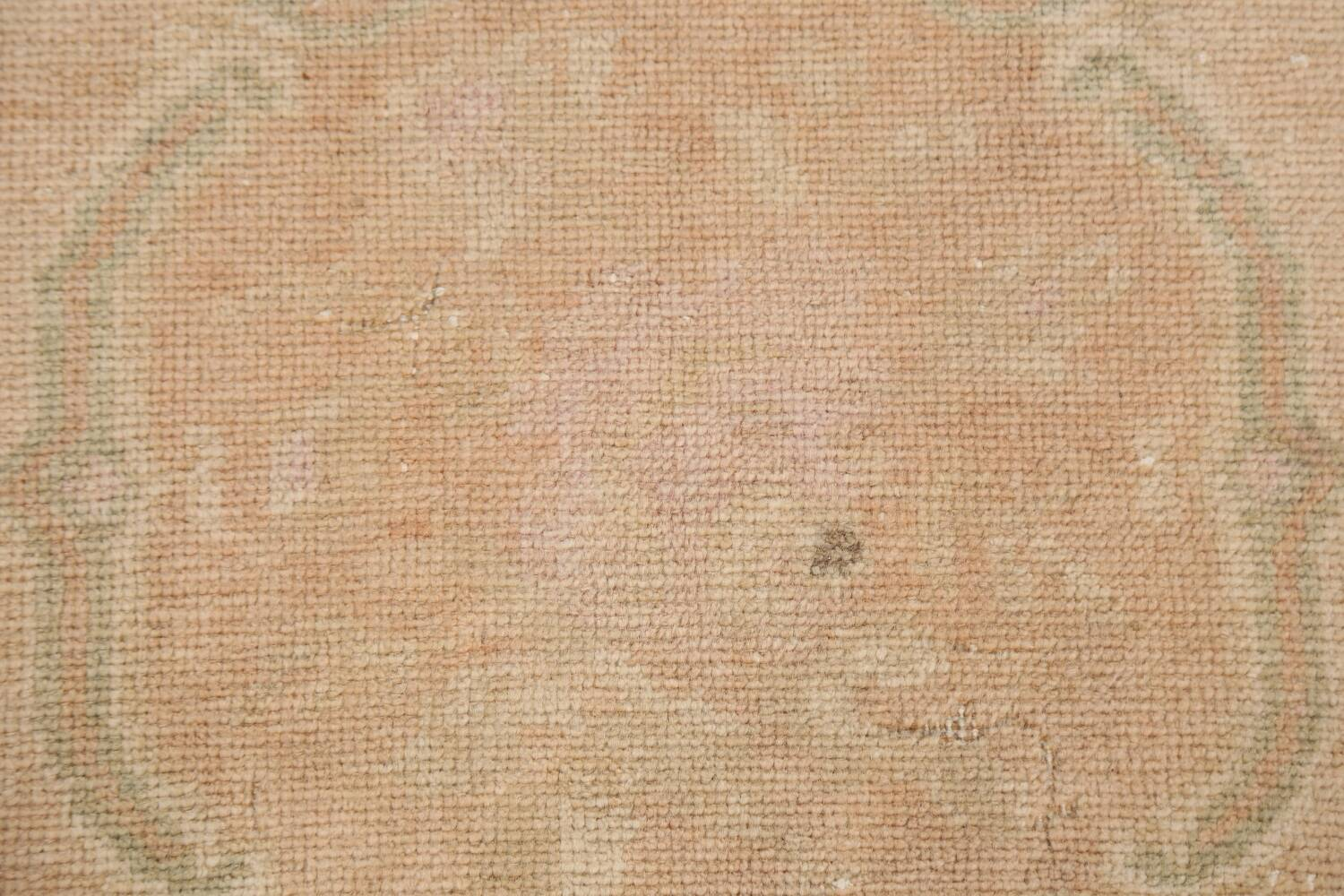 Muted Pale Orange Anatolian Turkish Area Rug 2x3 image 4