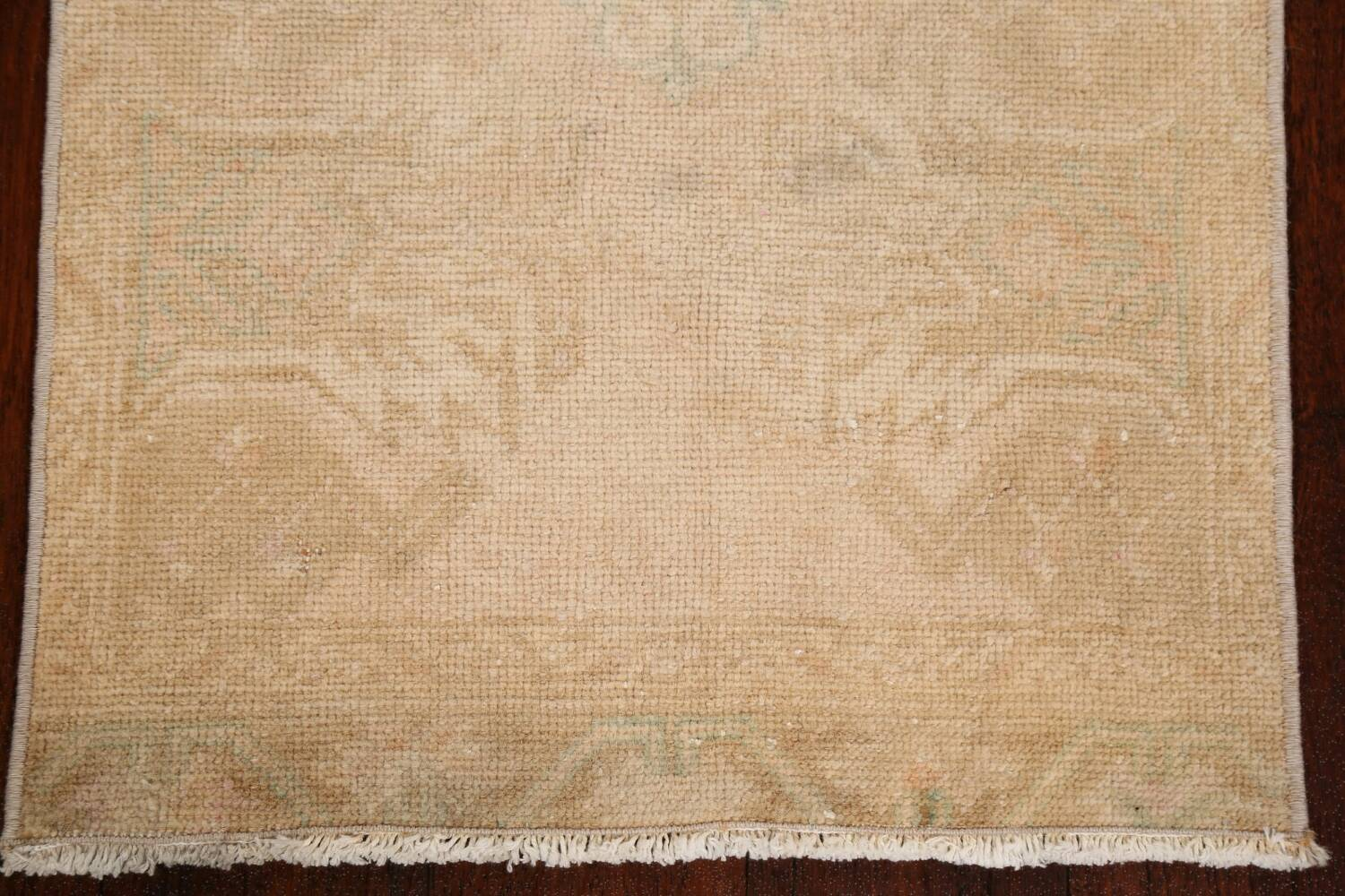 Muted Pale Orange Anatolian Turkish Area Rug 2x3 image 8