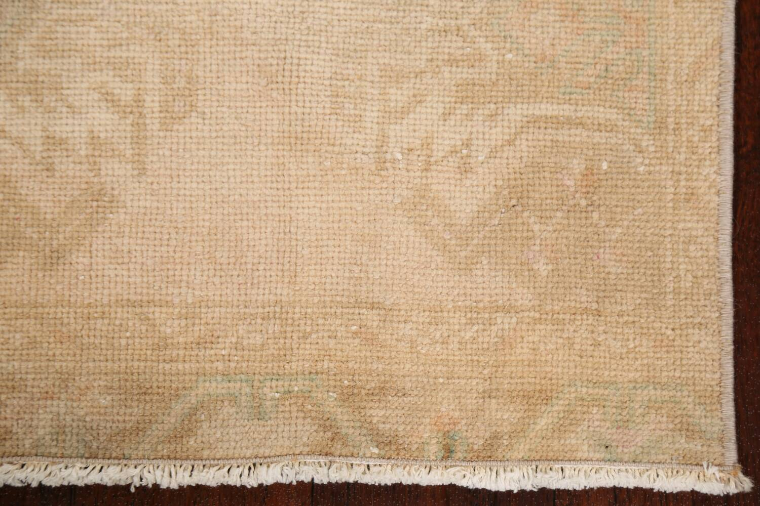 Muted Pale Orange Anatolian Turkish Area Rug 2x3 image 5