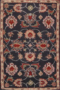 All-Over Floral Agra Oriental Area Rug 3x5