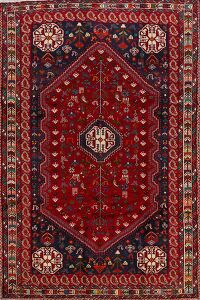Tribal Geometric Shiraz Persian Area Rug 6x10