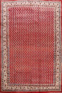 Vintage All-Over Boteh Botemir Persian Area Rug 8x11