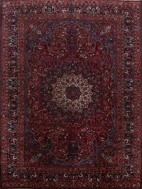 Antique Floral Mood Persian Area Rug 9x12