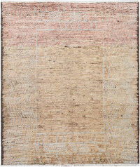 Bordered Plush Shaggy Moroccan Area Rug 8x10