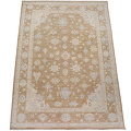 Muted Floral Oushak Turkish Area Rug 9x13 image 2