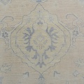 Muted Floral Oushak Turkish Area Rug 12x15 image 4