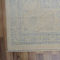 Muted Floral Oushak Turkish Area Rug 12x15 image 5