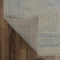 Muted Floral Oushak Turkish Area Rug 12x15 image 7