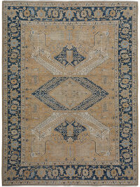 Geometric Oushak Turkish Oriental Area Rug 9x12