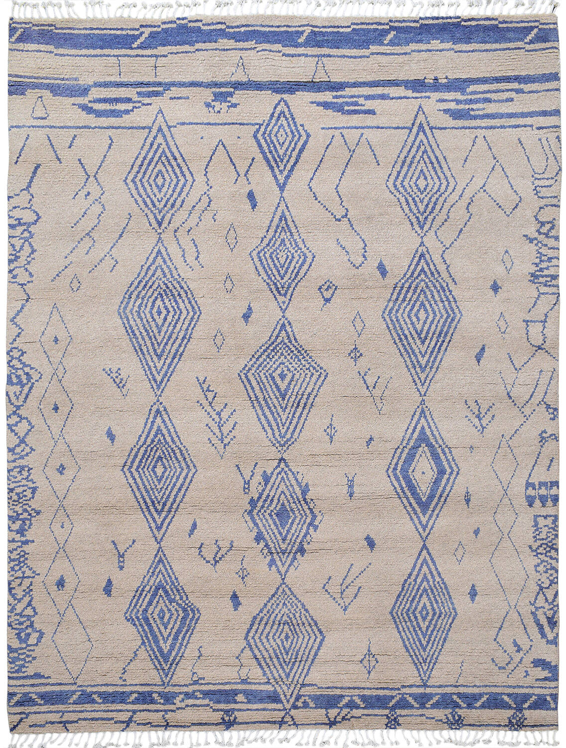 Tribal South-Western Moroccan Area Rug 8x10 image 1