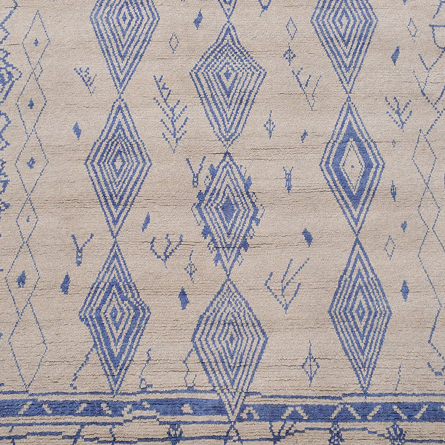 Tribal South-Western Moroccan Area Rug 8x10 image 3