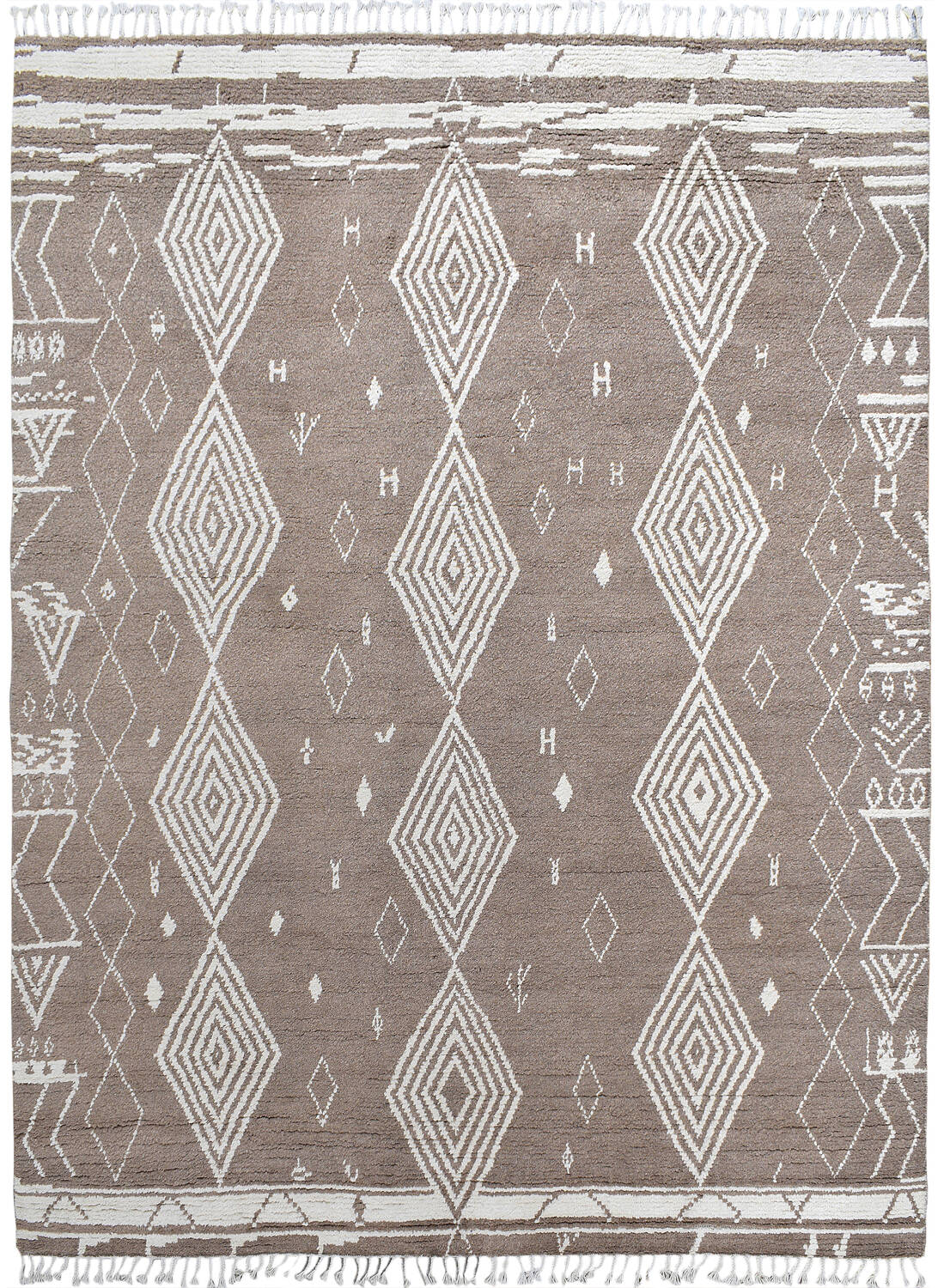 South-Western Moroccan Tribal Area Rug 8x10 image 1