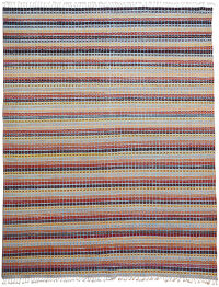 All-Over Geometric Moroccan Oriental Area Rug 9x12
