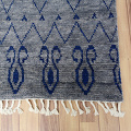 Tribal Moroccan Oriental Area Rug 9x13 image 5