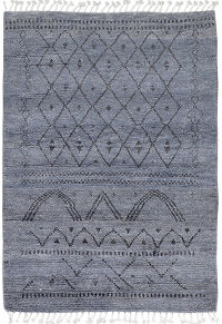Tribal Moroccan Area Rug 4x6