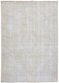 Antique Muted Tabriz Persian Distressed Area Rug 10x13