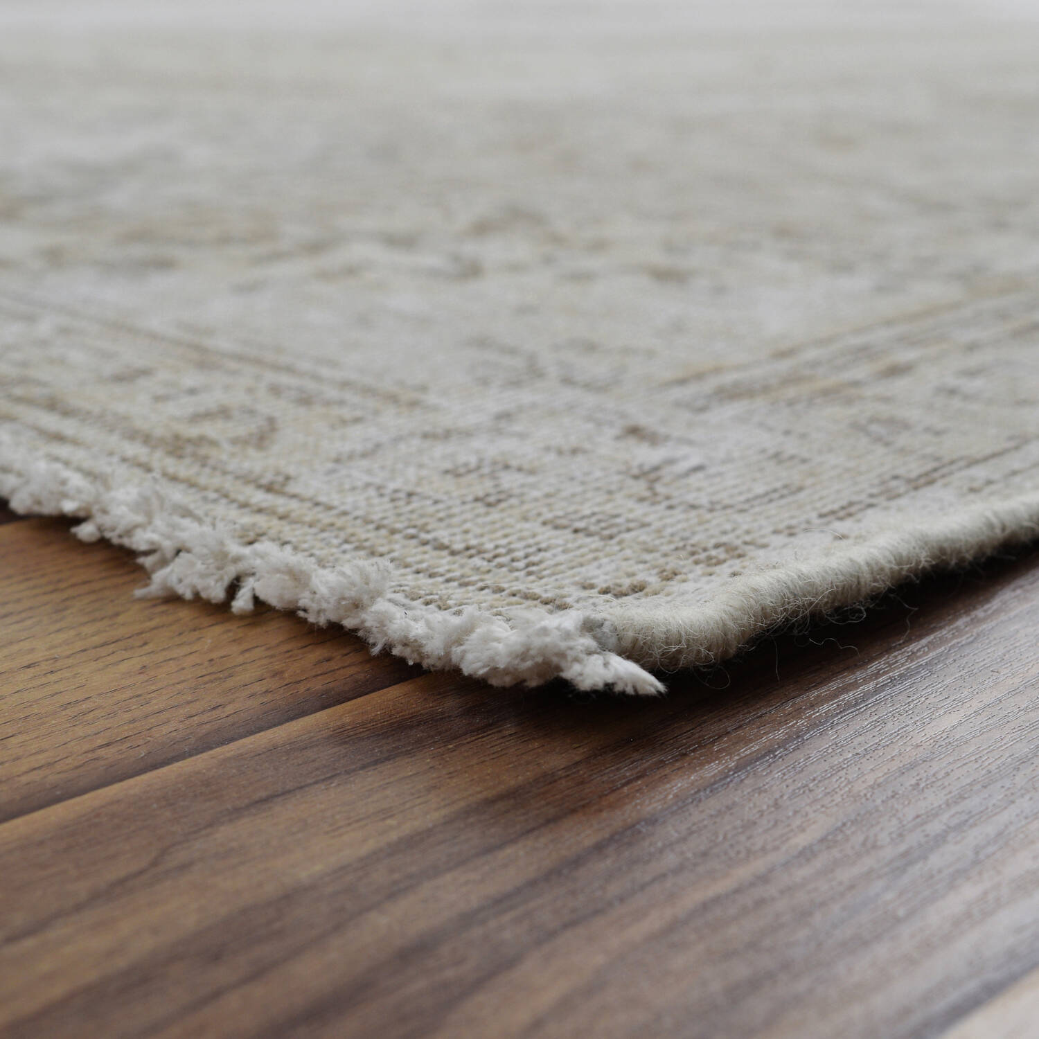 Antique Muted Kerman Distressed Persian Area Rug 9x12 image 6
