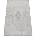 Antique Muted Kerman Distressed Persian Area Rug 9x12 image 2