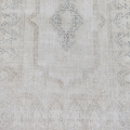 Antique Muted Kerman Distressed Persian Area Rug 9x12 image 3