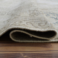 Antique Muted Kerman Distressed Persian Area Rug 9x12 image 9