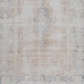 Distressed Antique Kerman Persian Muted Area Rug 10x13 image 3