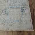 Distressed Antique Kerman Persian Muted Area Rug 10x13 image 5