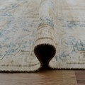 Distressed Antique Kerman Persian Muted Area Rug 10x13 image 10