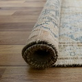 Distressed Antique Kerman Persian Muted Area Rug 10x13 image 9