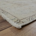 Antique Floral Tabriz Distressed  Persian Muted Area Rug 6x9 image 5