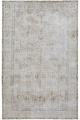 Antique Floral Tabriz Distressed  Persian Muted Area Rug 6x9 image 1