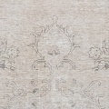 Antique Floral Muted Tabriz Persian Distressed Area Rug 9x12 image 4
