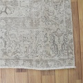 Antique Muted Floral Tabriz Persian Distressed Area Rug 9x13 image 5