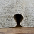 Antique Muted Floral Tabriz Persian Distressed Area Rug 9x13 image 7