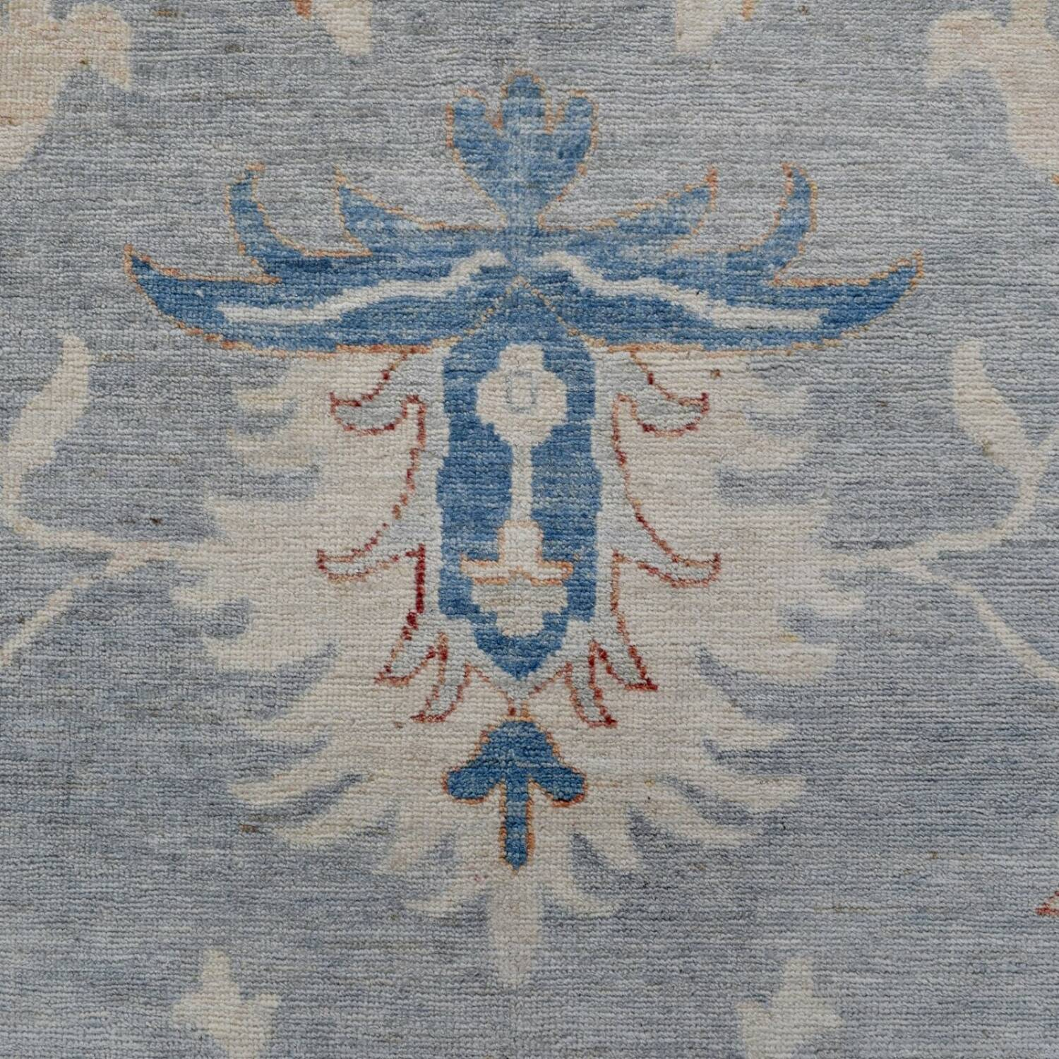 All-Over Floral Oushak Turkish Oriental Area Rug 9x12 image 4