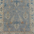 All-Over Floral Oushak Turkish Oriental Area Rug 9x12 image 3