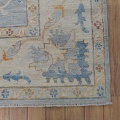 All-Over Floral Oushak Turkish Oriental Area Rug 9x12 image 5