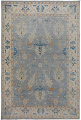 All-Over Floral Oushak Turkish Oriental Area Rug 9x12 image 1