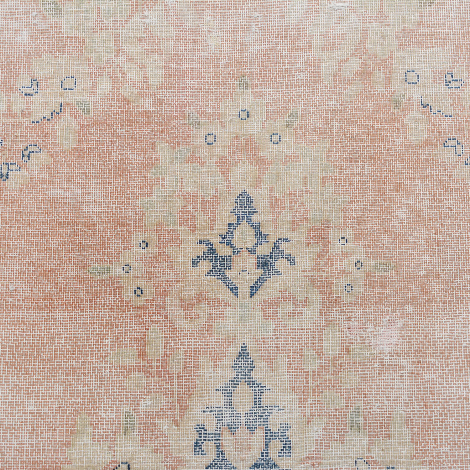 Antique Floral Muted Kerman Persian Area Rug 6x9 image 4