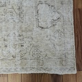 Antique Tabriz Persian Distressed Area Rug 9x12 image 5