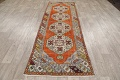 Geometric Anatolian Turkish Runner Rug 3x9 image 16