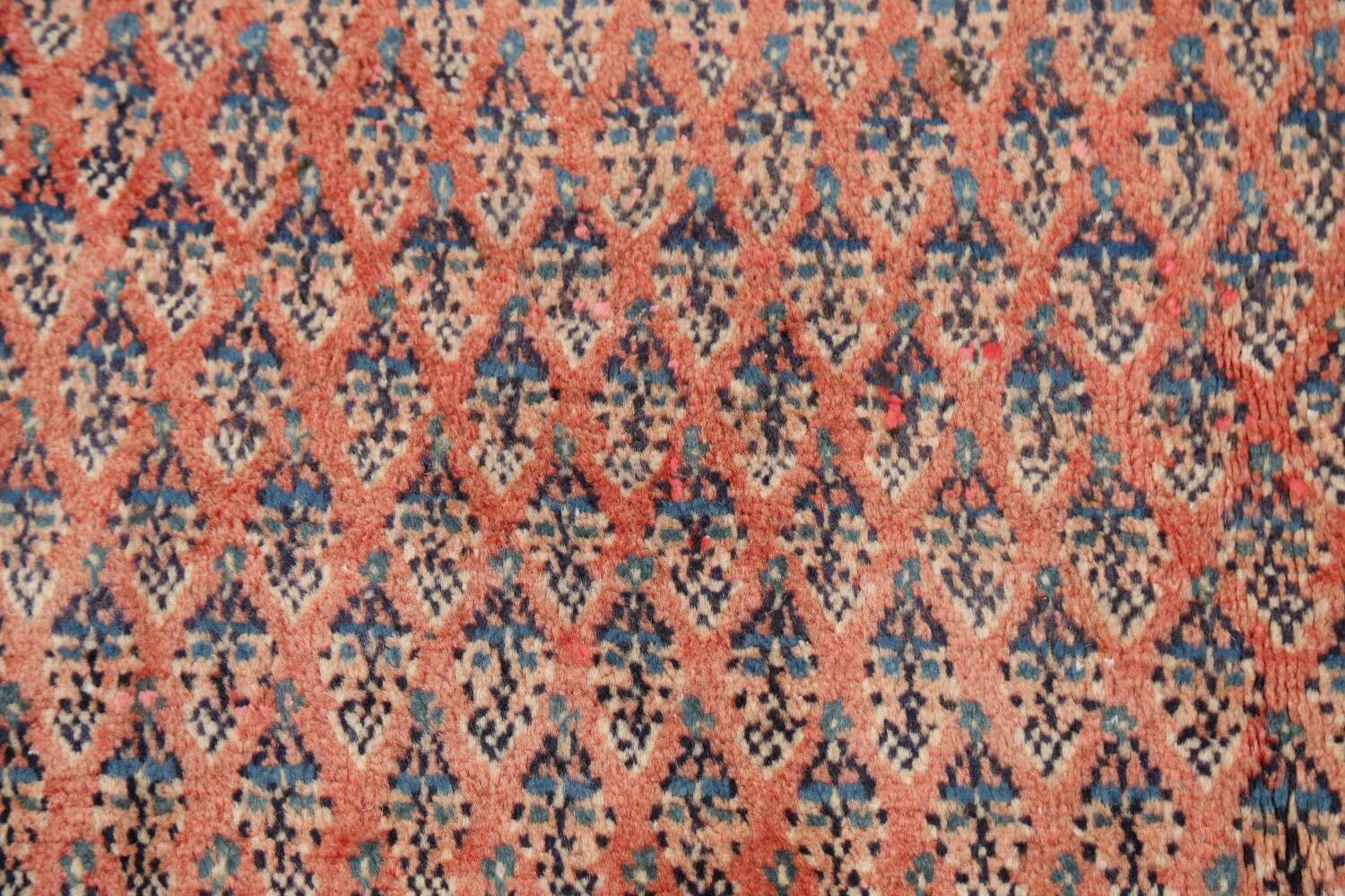 Vintage All-Over Boteh Botemir Persian Area Rug 4x7 image 10