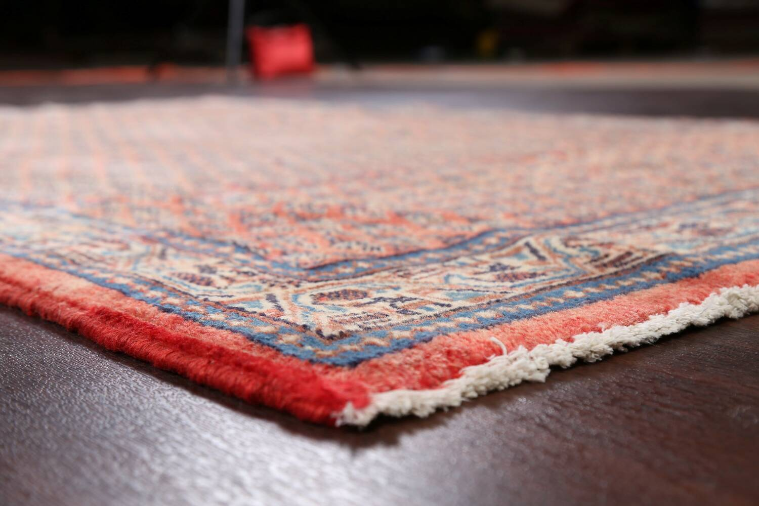 Vintage All-Over Boteh Botemir Persian Area Rug 4x7 image 6