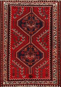 Tribal Geometric Shiraz Persian Area Rug 3x5