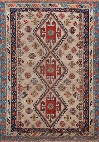 Pre-1900 Antique Vegetable Dye Lori Persian Area Rug 3x5