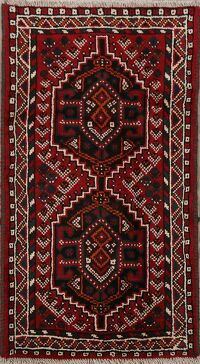 Tribal Geometric Shiraz Persian Area Rug 2x4